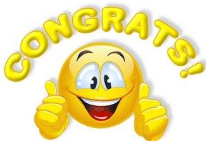 congrats yellow